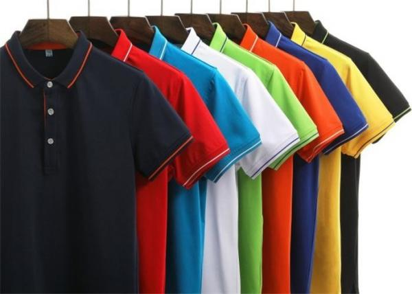 Pure Cotton Casual Work Uniforms , Custom Logo Adults Work.