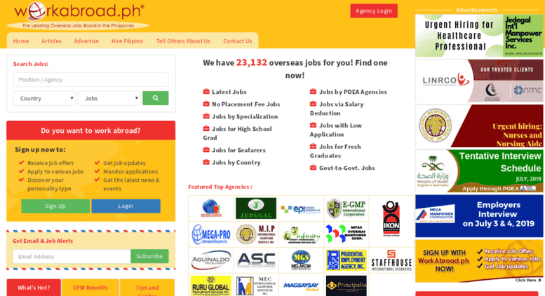 Access workabroad.ph. Work Abroad, Jobs Abroad for Filipinos, Jobs.