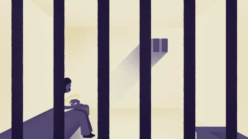 Imprisoned: Raising my baby behind bars.