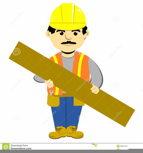 Construction Worker Cartoon Clipart Free.