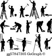 Workers Clip Art.