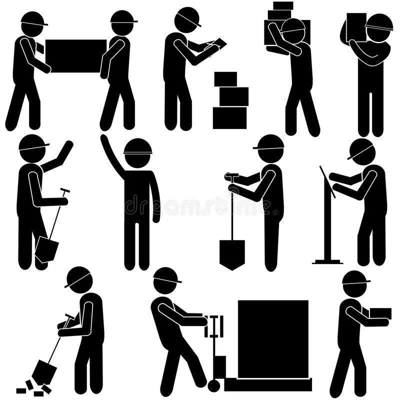 Manual Work Clipart.