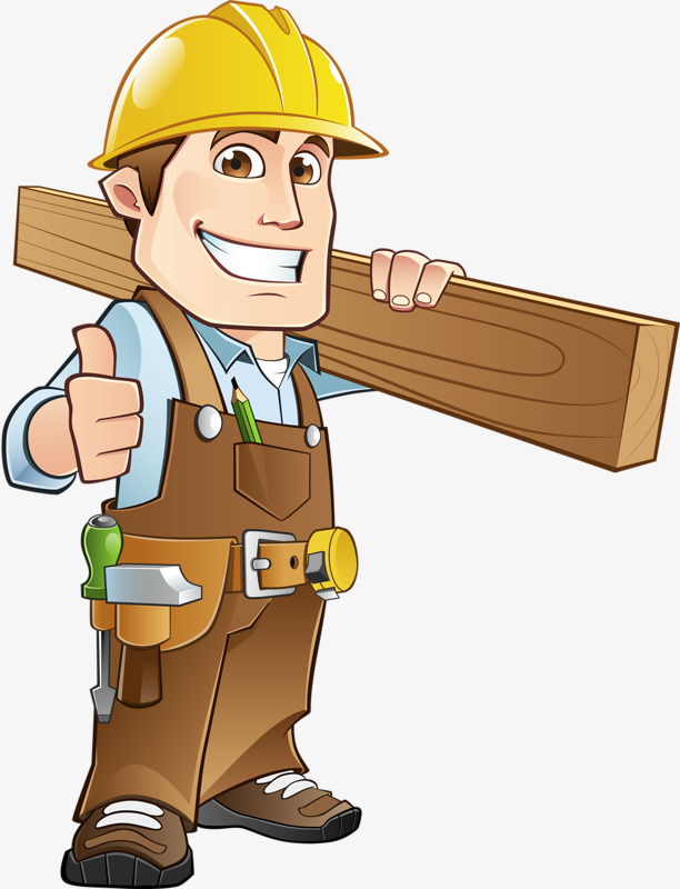 Construction Worker, Construction Clipart, Worker, Building PNG.