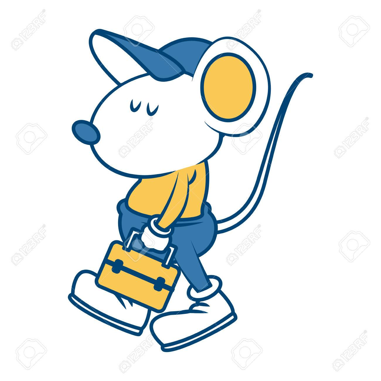 20065 Mouse free clipart.