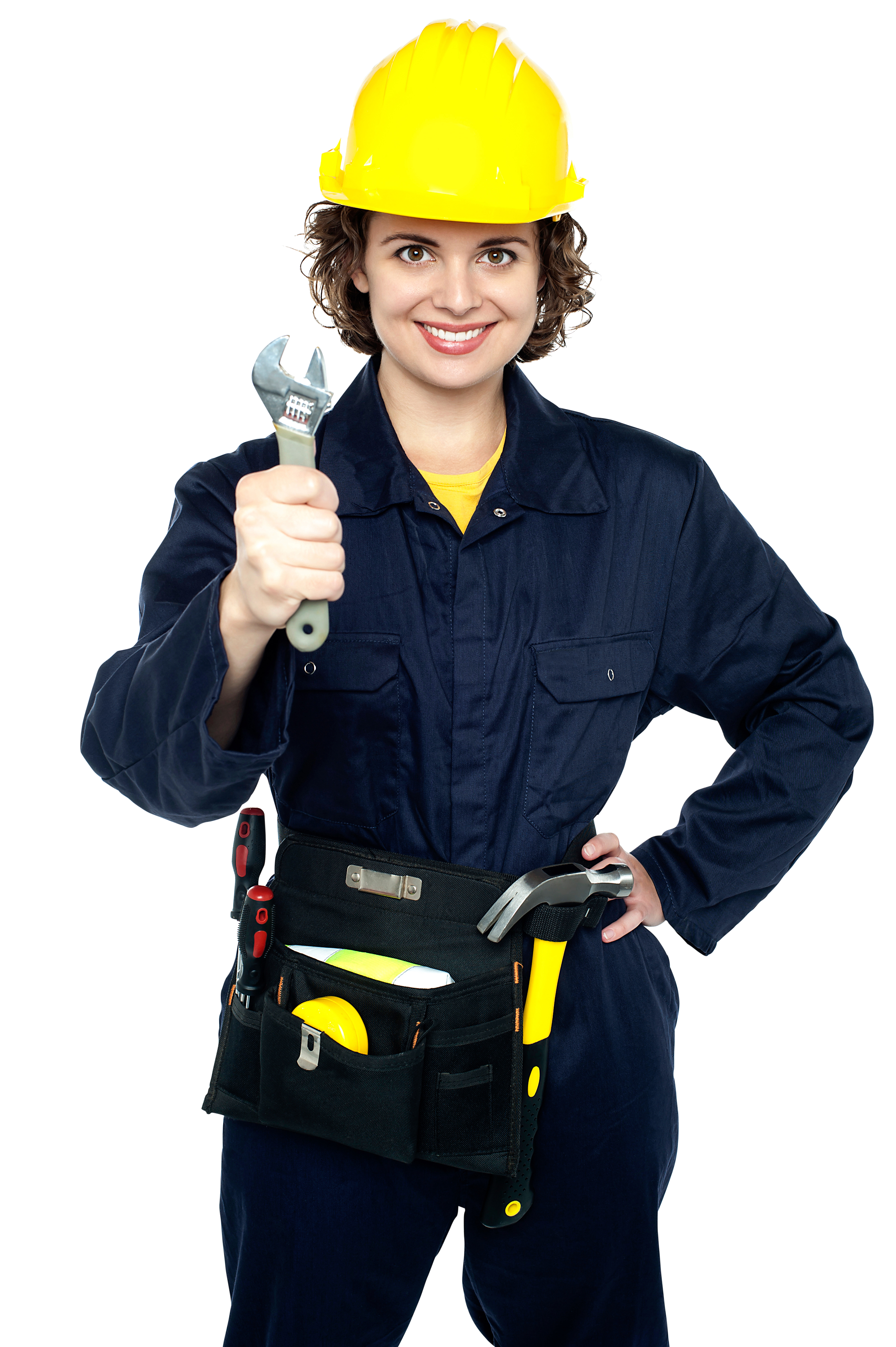 Women Worker PNG Image.