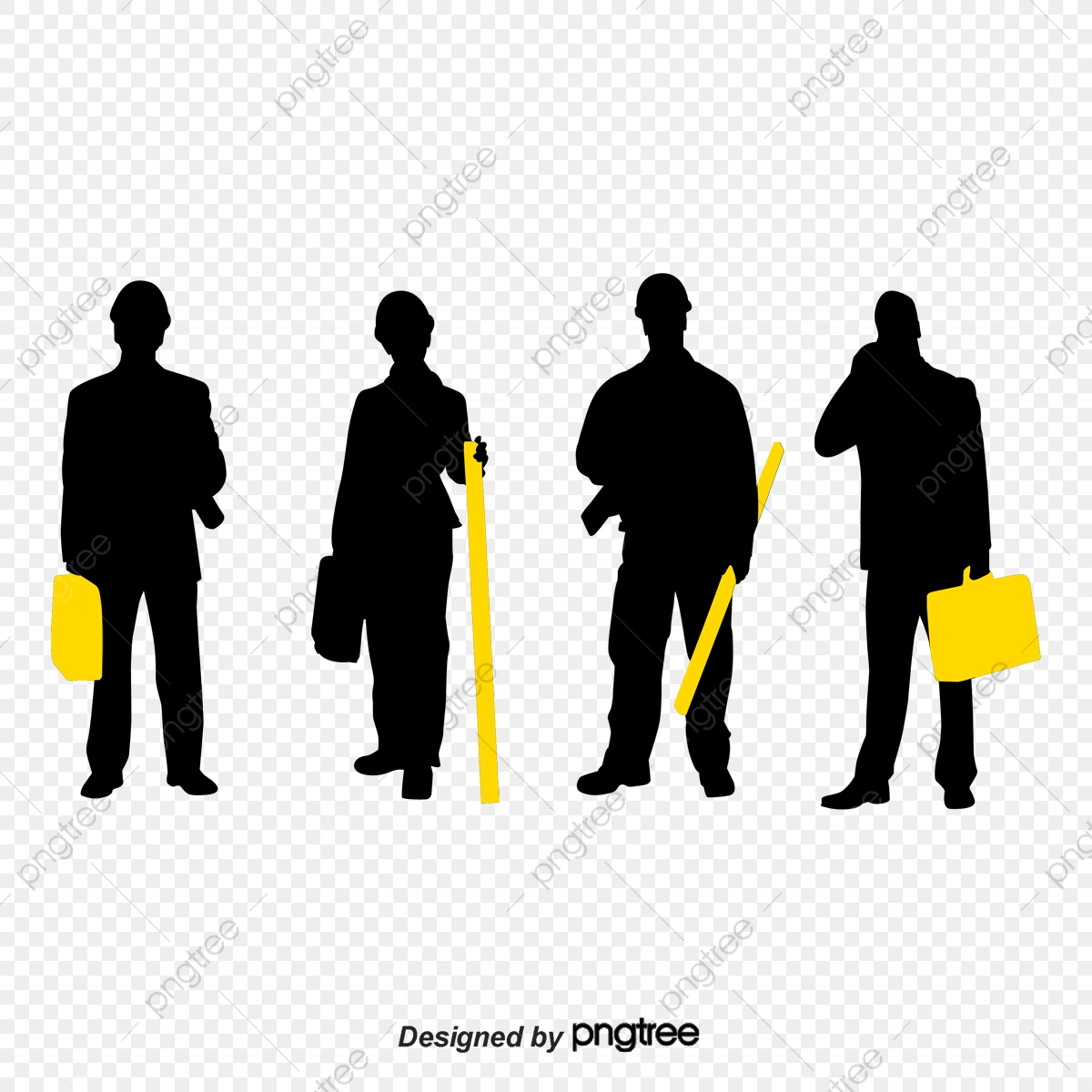 Construction Workers Vector Material Free Download, Construction.