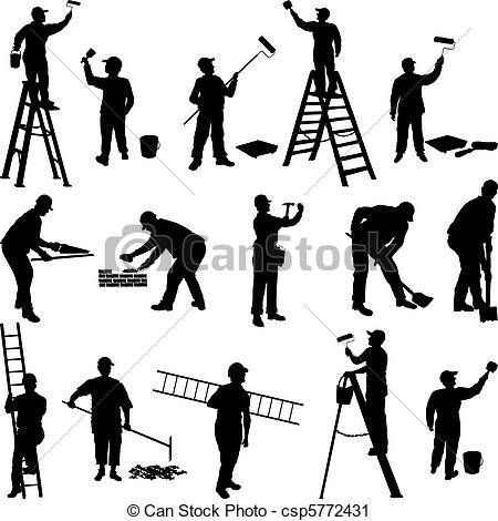 Workers Clipart and Stock Illustrations. 170,838 Workers vector.