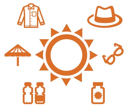 Sun safety for outdoor workers.