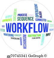 Workflow Clip Art.