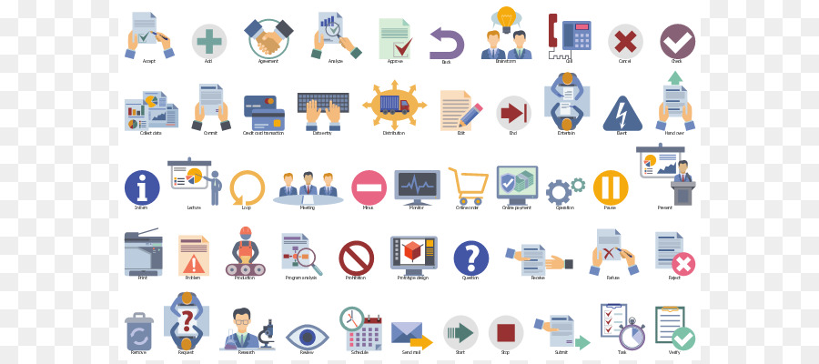 Workflow Icon png download.
