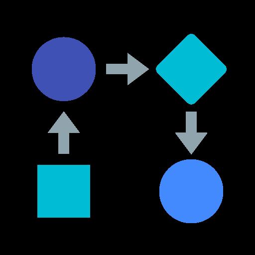 workflow icon.