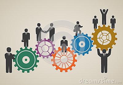 Workforce Stock Illustrations.
