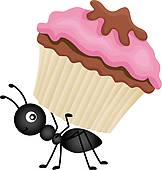 Worker Ant Clip Art.
