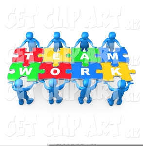 Clipart Working Together Team.