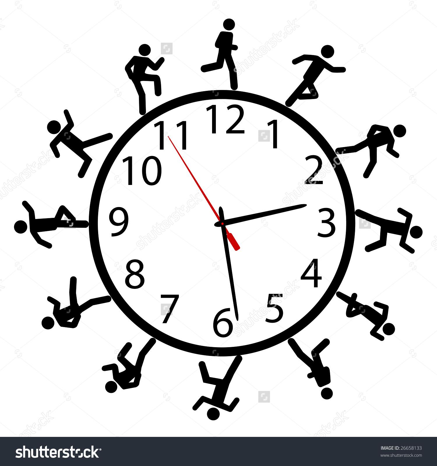 Working Around The Clock Stock Vectors & Vector Clip Art.