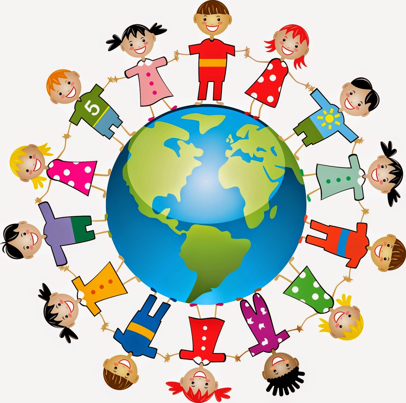 Clipart and animations of working world.