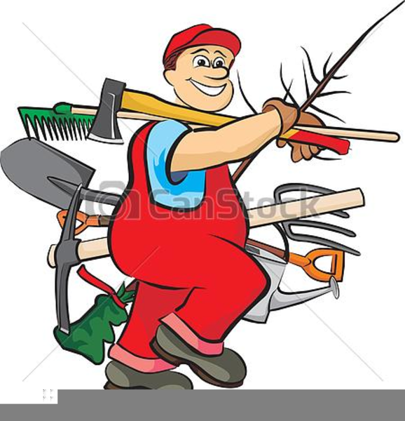 Free Clipart Working Man.