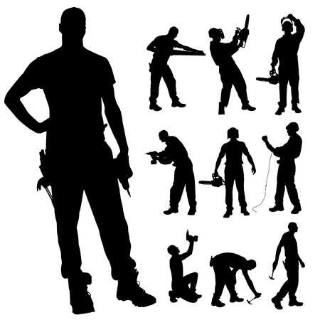 348,065 Working Man Cliparts, Stock Vector And Royalty Free Working.