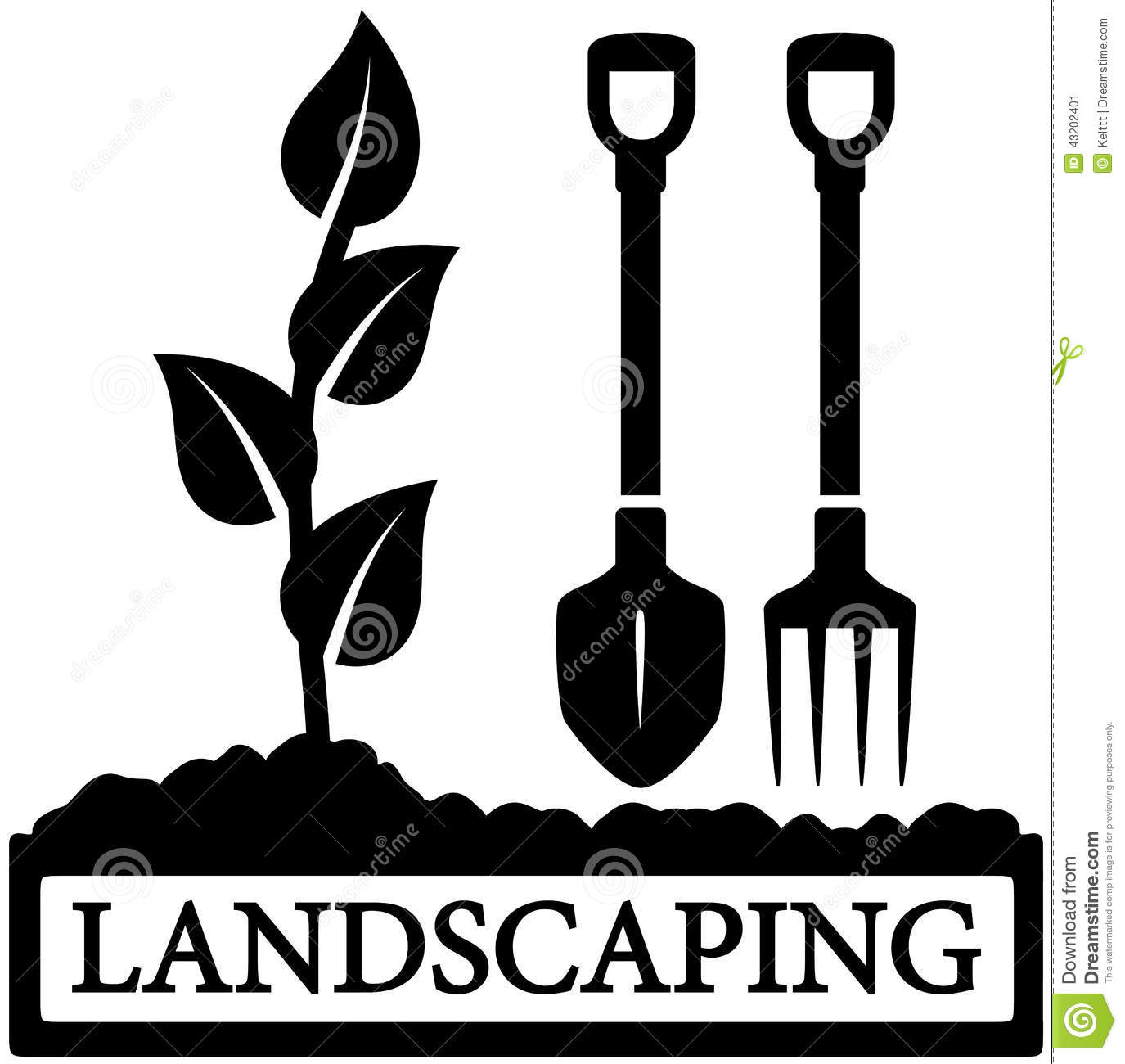 Landscaping Clipart Free.