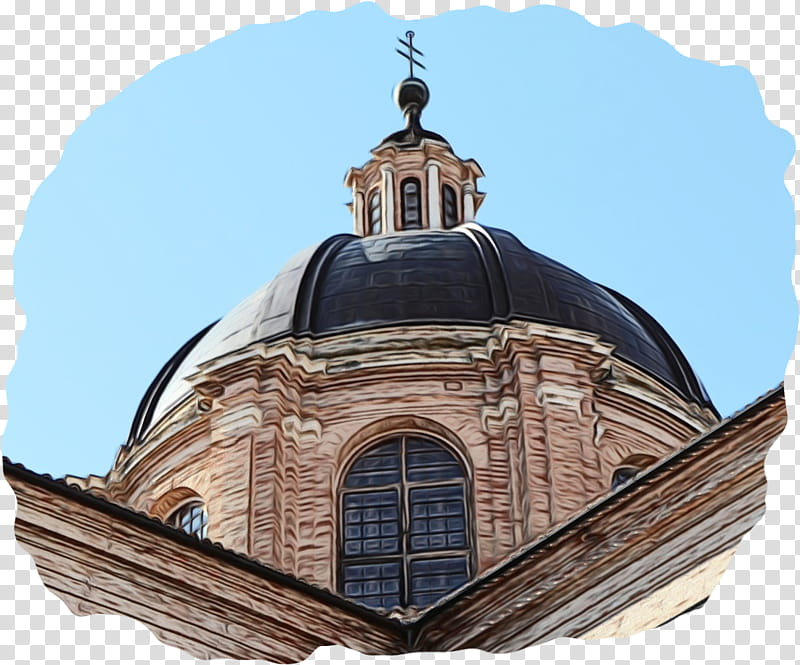 Church, Dome, Architecture, Building, Sky, Facade, Lowangle.