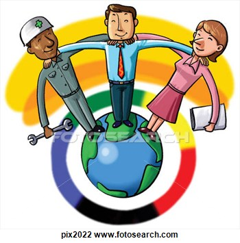 Working people clipart.