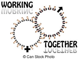 Working together Clipart and Stock Illustrations. 18,910 Working.