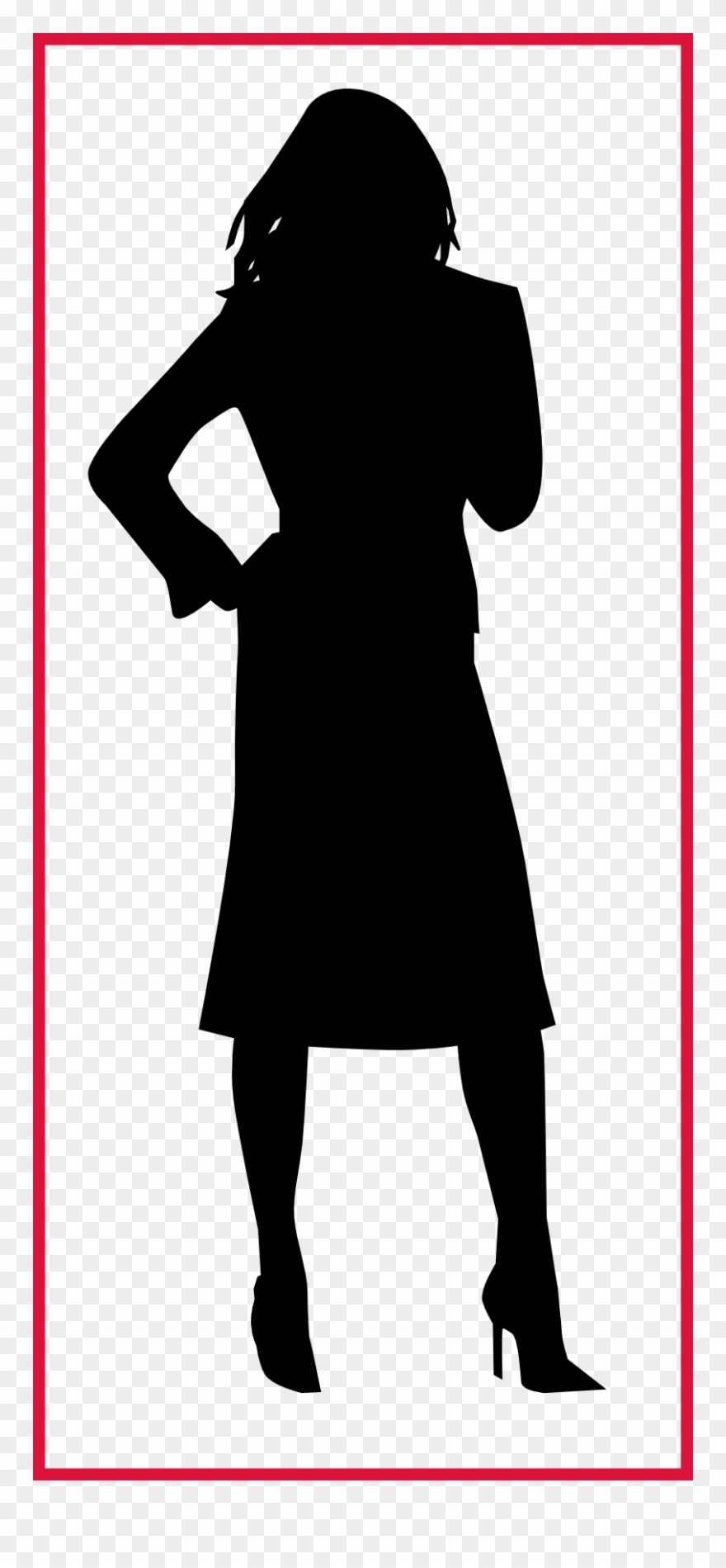 Banner Library Download Incredible Silhouette Woman.