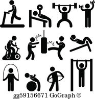 Exercise Clip Art.