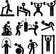 Exercise Clip Art Free.