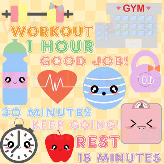 Gym clipart free.