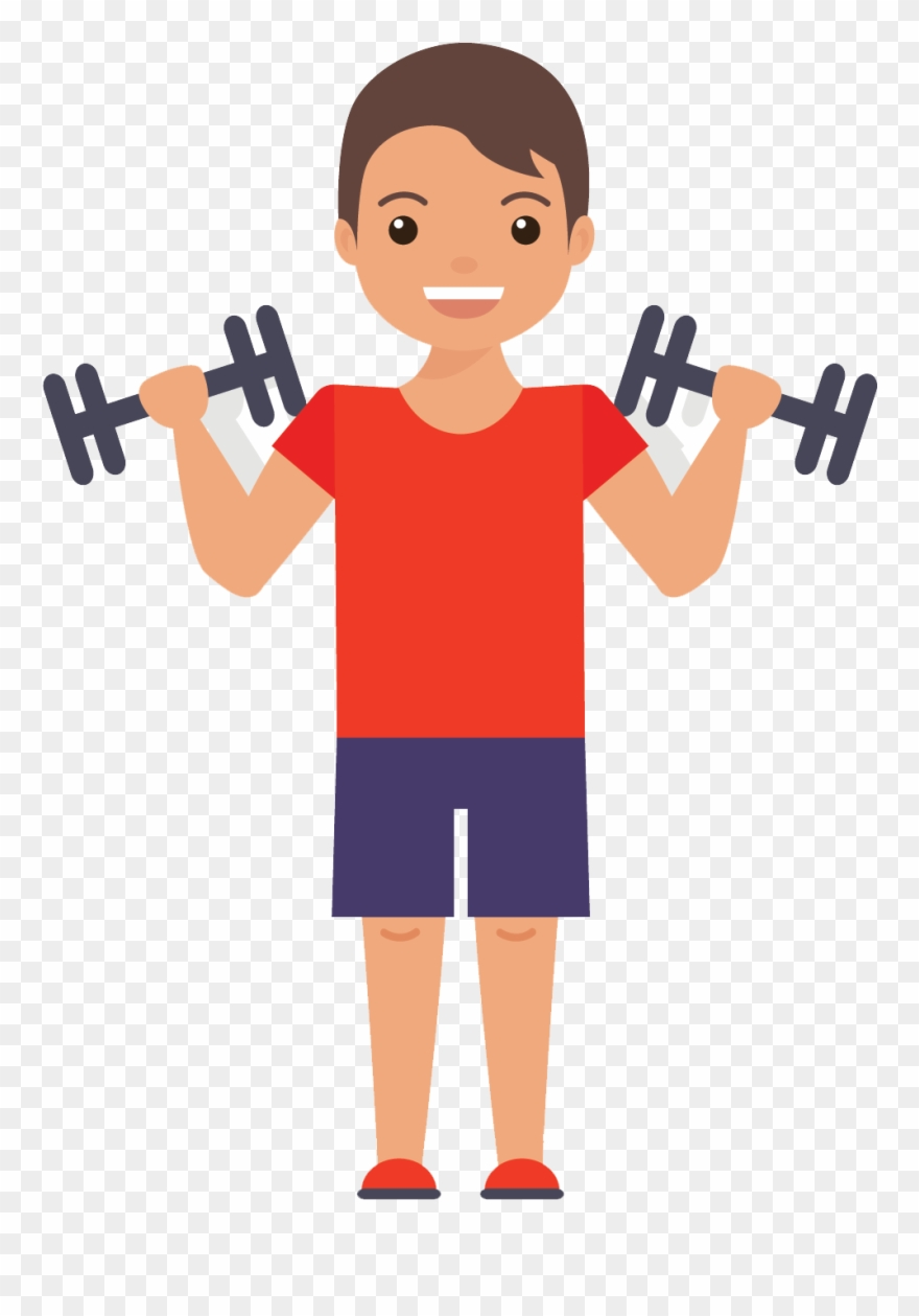 Muscles Clipart Gym.