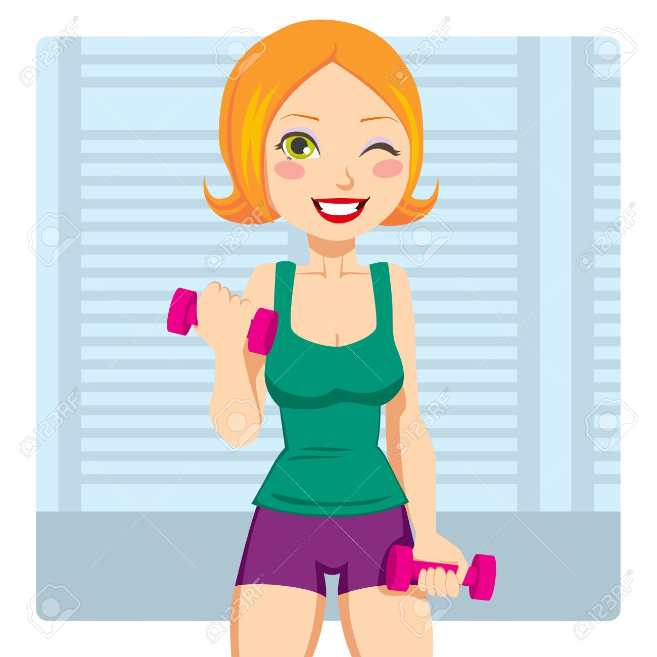 Free Girl Exercising Cliparts, Download Free Clip Art, Free.