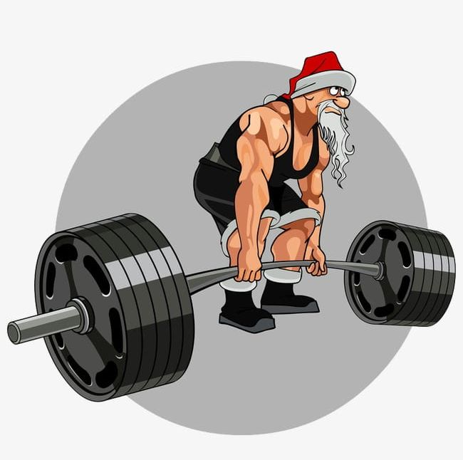 Fitness Santa PNG, Clipart, Cartoon, Cartoon Santa Claus.