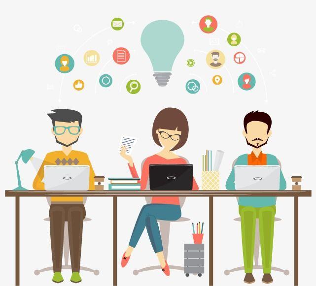 Designer, Workplace, Office, Clerk PNG Transparent Clipart.