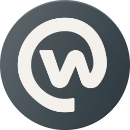 Workplace Logo Icon of Flat style.