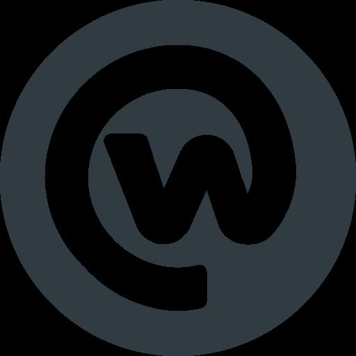 Logo, media, social, workplace icon.