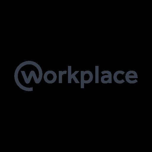 Facebook Workplace logo vector free download.