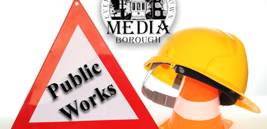 The Media Borough Public Works Department.
