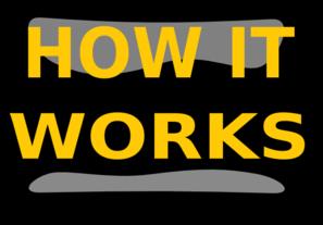 How It Works Black Clip Art at Clker.com.