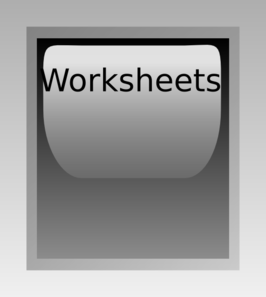 clipart cliparts worksheet.