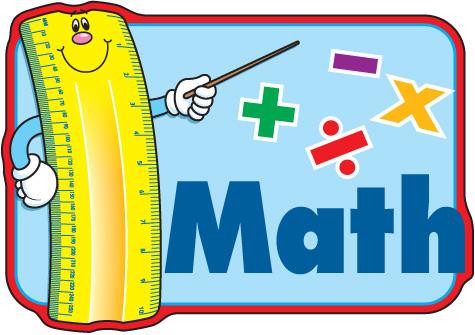 Math worksheet clipart.
