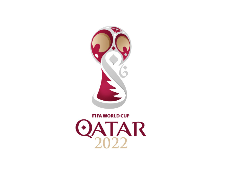 Qatar 2022 World Cup logo redesign by Ilker Türe on Dribbble.