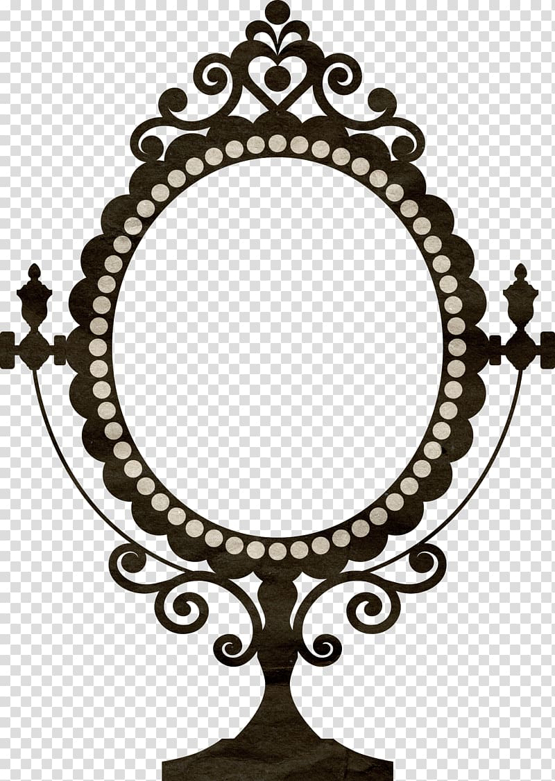 Wall decal Vintage clothing Mirror frame Decorative arts.