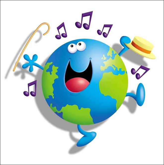 World Music Day Clip art.