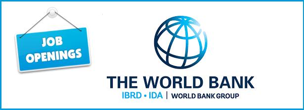 Job openings at the World Bank.