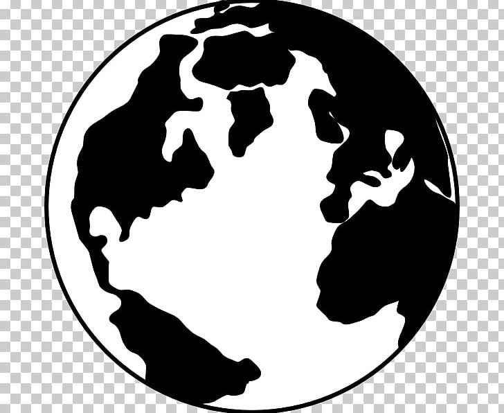 Globe World Black And White PNG, Clipart, Black And White, Black And.