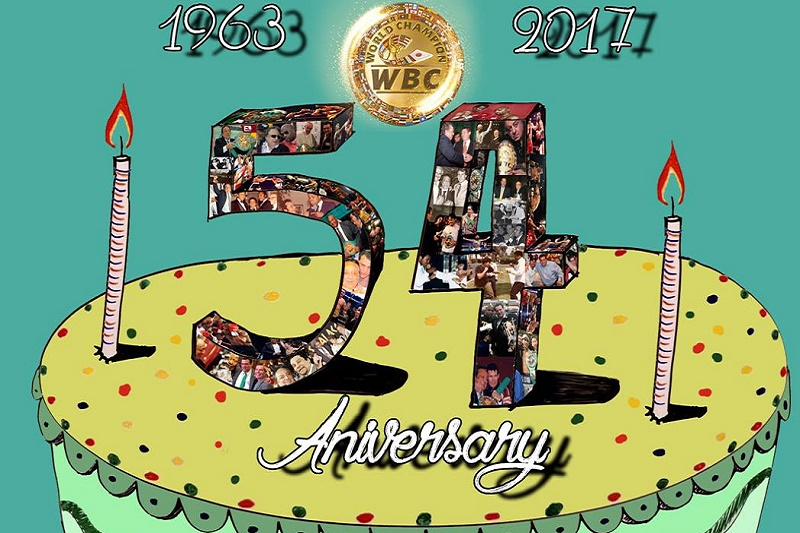 World Boxing Council celebrating 54th birthday.