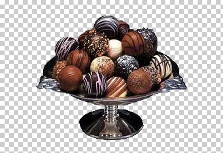 Chocolate balls World Chocolate Day Valentine\'s Day Love.