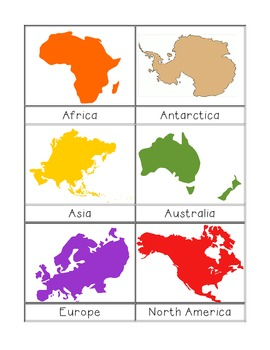 world clipart continents - Clipground