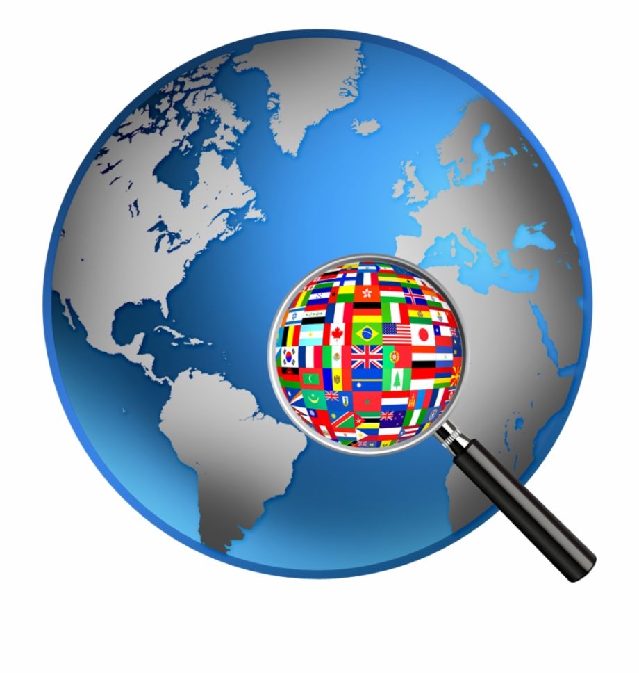 World Flags Clipart World Map Globe , Png Download.